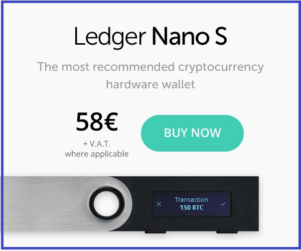 Ledger Nano S - The multi-currency hardware wallet