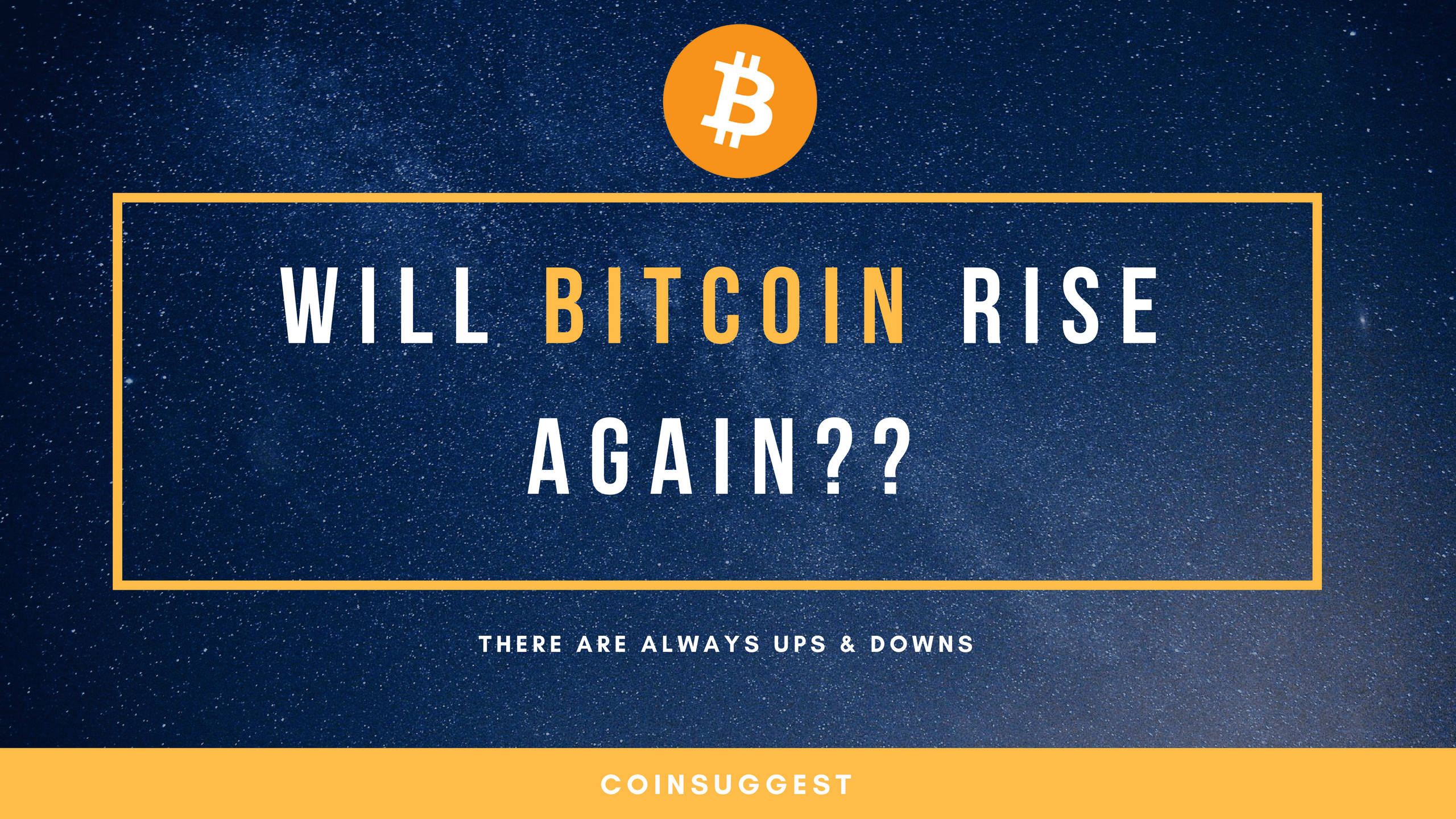 Photo of Will Bitcoin Be Able To Rise Once Again?
